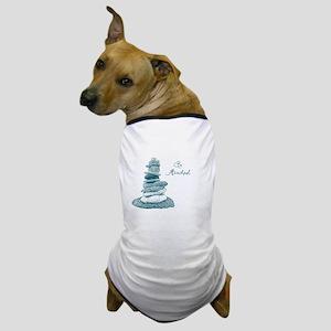 Be Mindful Cairn Rocks Dog T-Shirt