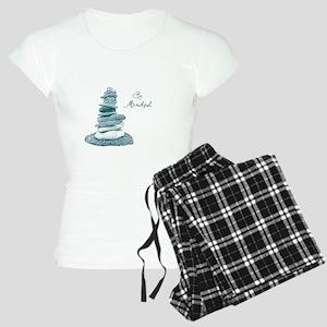 Be Mindful Cairn Rocks Pajamas
