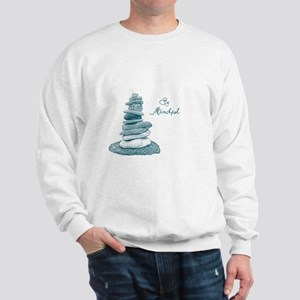 Be Mindful Cairn Rocks Sweatshirt