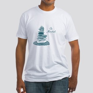 Be Mindful Cairn Rocks T-Shirt