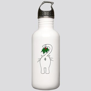 Season's Greetings From Our Cat Water Bottle