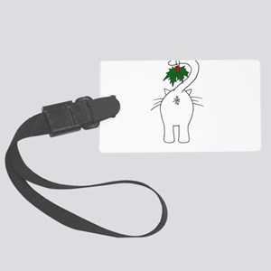 Season's Greetings From Our Cat Luggage Tag