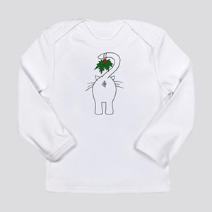Season's Greetings From Our Cat Long Sleeve T-Shir