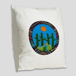 NEW VISIONS Burlap Throw Pillow