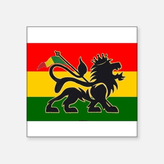 Rasta, Rastafarian Sticker