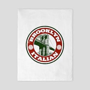 Brooklyn New York Italian Twin Duvet