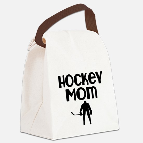 Hockey Mom Canvas Lunch Bag