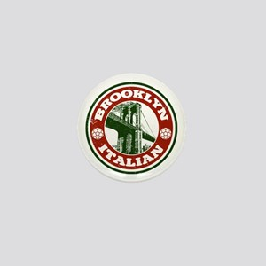 Brooklyn New York Italian Mini Button
