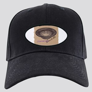 roulette Black Cap with Patch