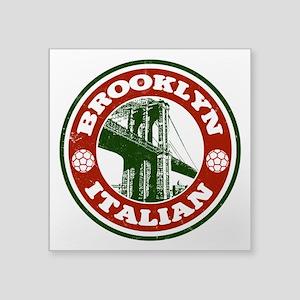 Brooklyn New York Italian Sticker