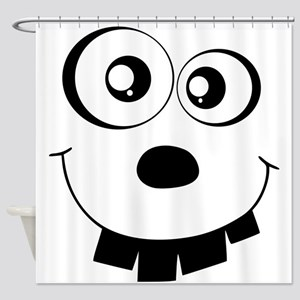 Monster Face Shower Curtain