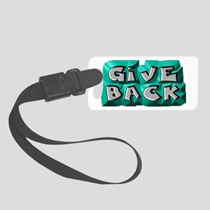 Give Back Luggage Tag