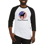 Proud Democrat Baseball Jersey