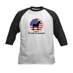 Proud Democrat Kids Baseball Jersey