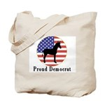Proud Democrat Tote Bag