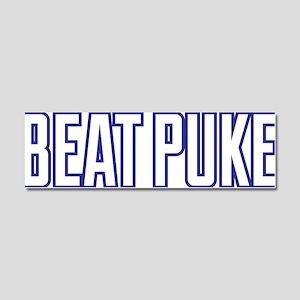 Beat Puke Car Magnet 10 x 3