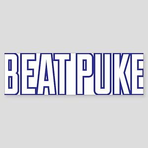 Beat Puke Bumper Sticker