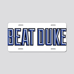 Beat Puke Aluminum License Plate