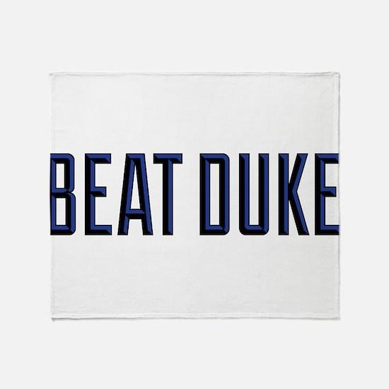 Beat Puke Throw Blanket