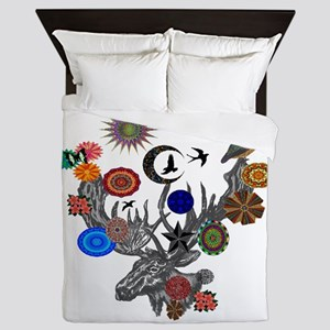 FOREST SONGS Queen Duvet