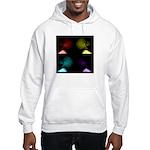 Pop Art Skulls Hooded Sweatshirt