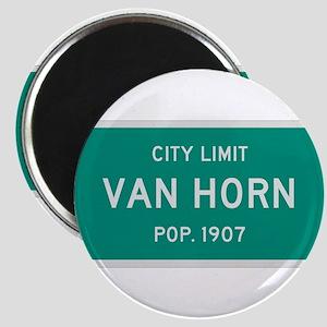 Van Horn, Texas City Limits Magnet
