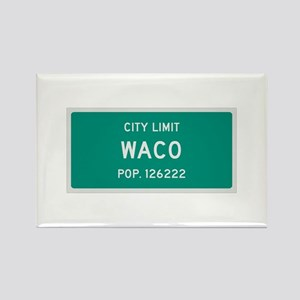 Waco, Texas City Limits Rectangle Magnet