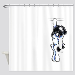 Clingy Havanese Shower Curtain