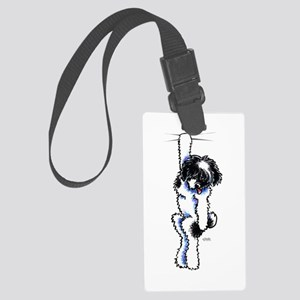 Clingy Havanese Luggage Tag