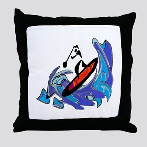 SUP MOTIONS Throw Pillow