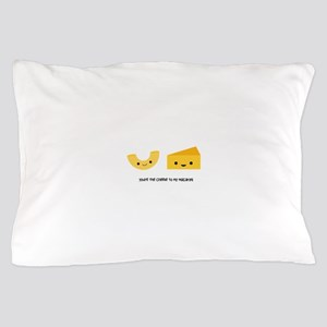 Macaroni and Cheese Pillow Case