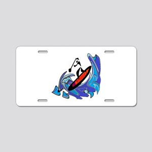 SUP MOTIONS Aluminum License Plate