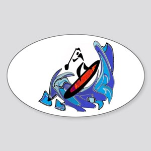 SUP MOTIONS Sticker