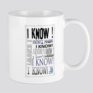 I know! I Know!! Teenagers knows it all.. Mug