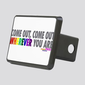 Come Out Come Out - Gay Pride Hitch Cover