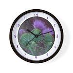 Thistle Trio Wall Clock