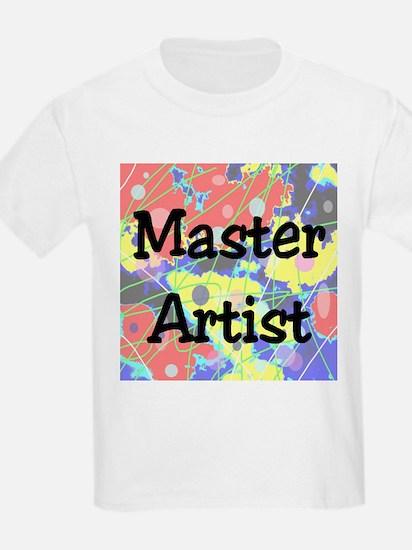 Master Artist Kids T-Shirt