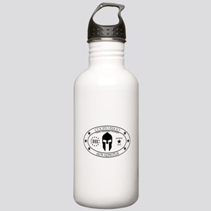 Armed Thinker - III W&B Water Bottle