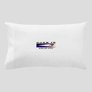 Born In American Samoa Pillow Case