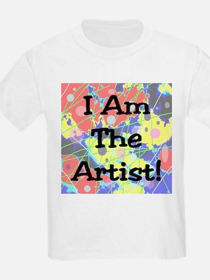 I Am The Artist! Kids T-Shirt