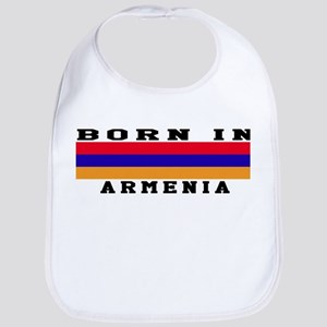 Born In Armenia Bib