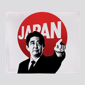 Abe Japan Throw Blanket