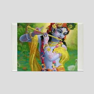 I Love you Krishna. Rectangle Magnet