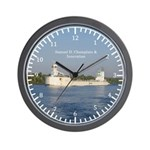 Samuel D. Champlain & Innovation Wall Clock
