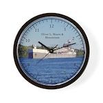Oliver L Moore & Menominee Wall Clock