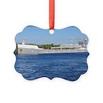 Oliver L. Moore & Menominee Picture Ornament