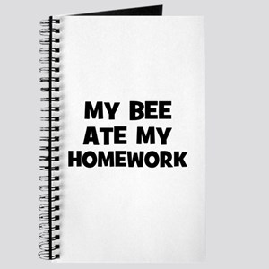 My Bee Ate My Homework Journal