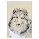 Shetland Sheepdog Large Poster