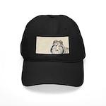 Shetland Sheepdog Black Cap with Patch