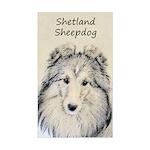 Shetland Sheepdog Sticker (Rectangle)